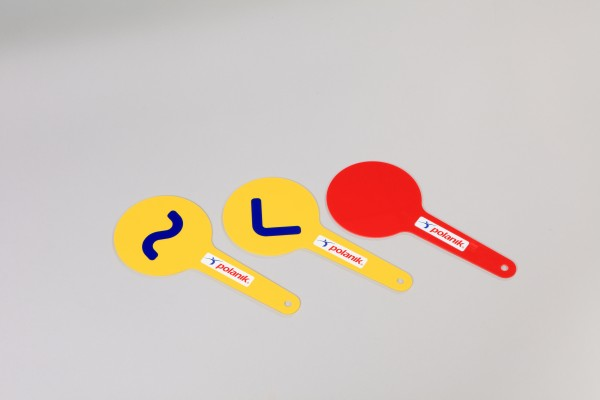 Polanik Race Walking Judges Paddles