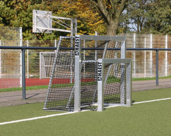 HAEST Vollverschweißtes Mini-Fußballtor