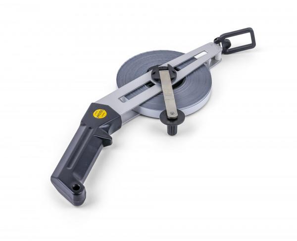 Weiss German Open Reel Steel Measuring Tape