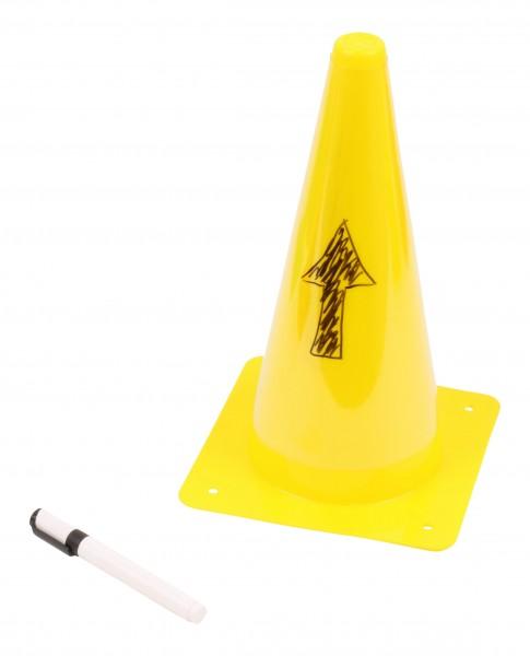 Ten Write-on Cones with Pen