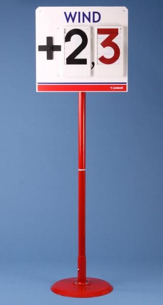 Polanik Anzeigetafel für Windgeschwindigkeit