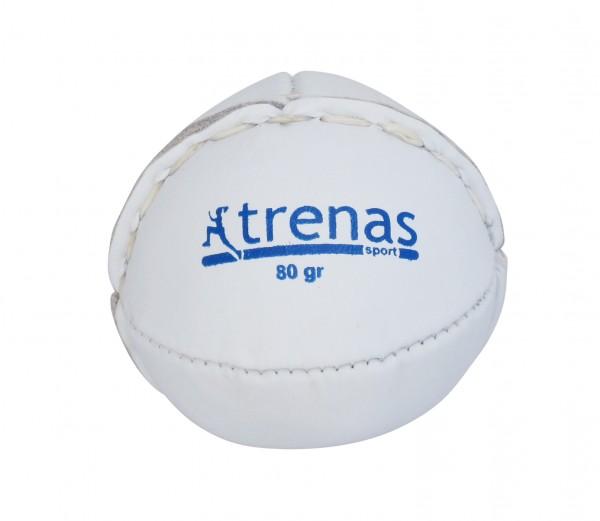 trenas Schlagball aus Leder - 80 g - Weiß