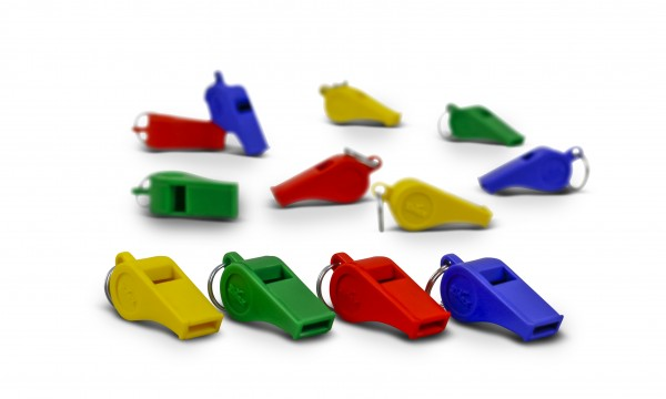 Referee's Whistle - Set of 12