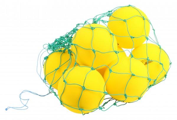 Ballnetz für bis zu zehn Spielbälle