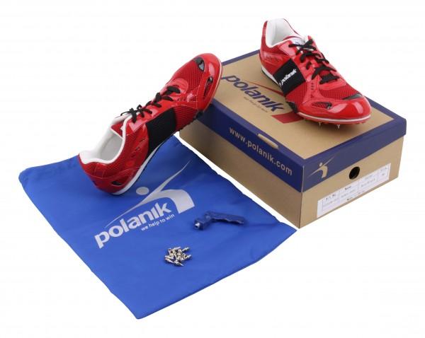Polanik Chaussures à pointes d'athlétisme polyvalentes