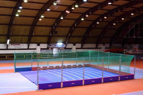 Polanik Indoor Shot Put Safety Barrier