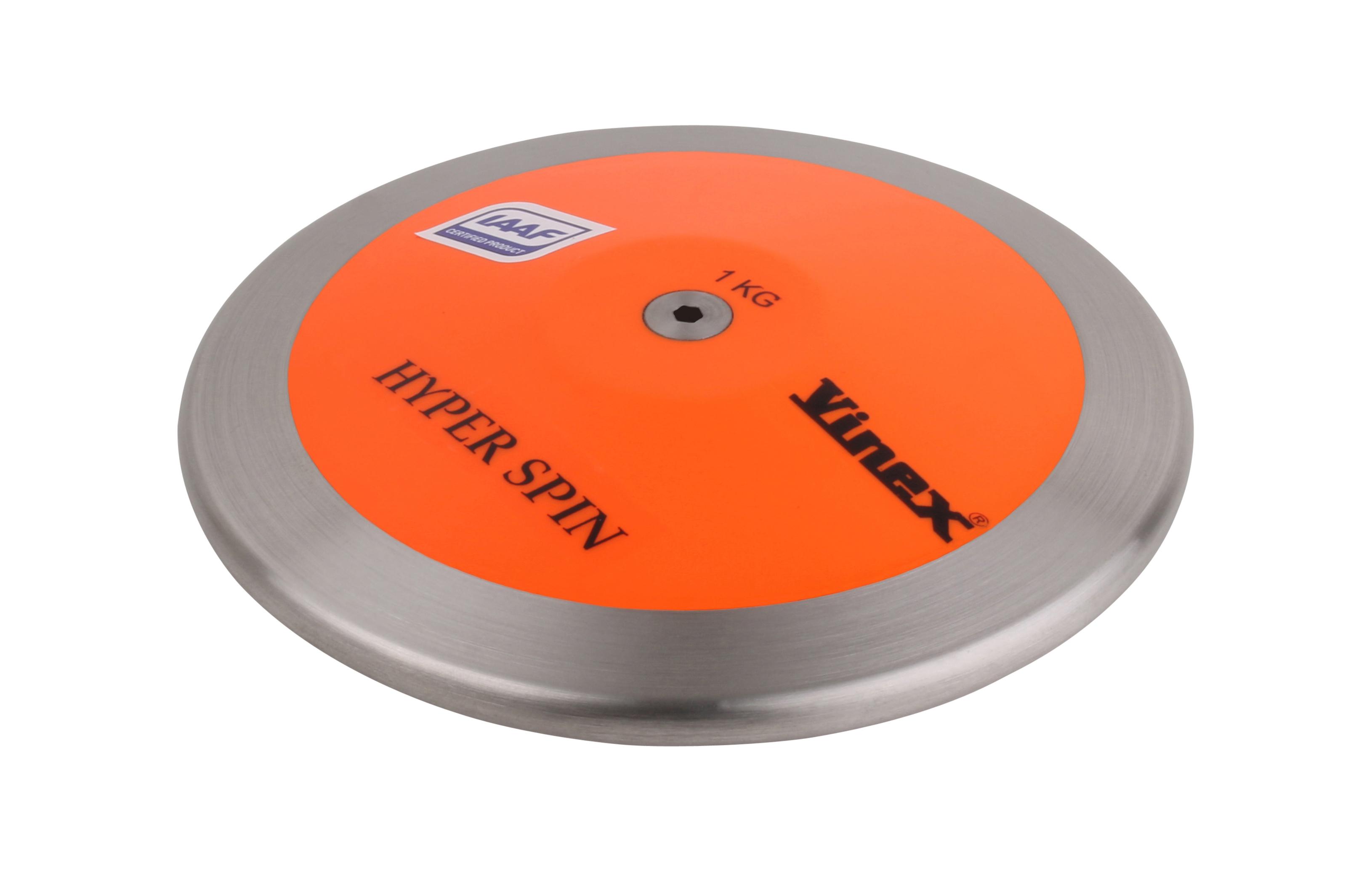 Vinex Wettkampfdiskus Lo Spin 0,75 bis 2,00 kg Diskus IAAF Diskuswurf