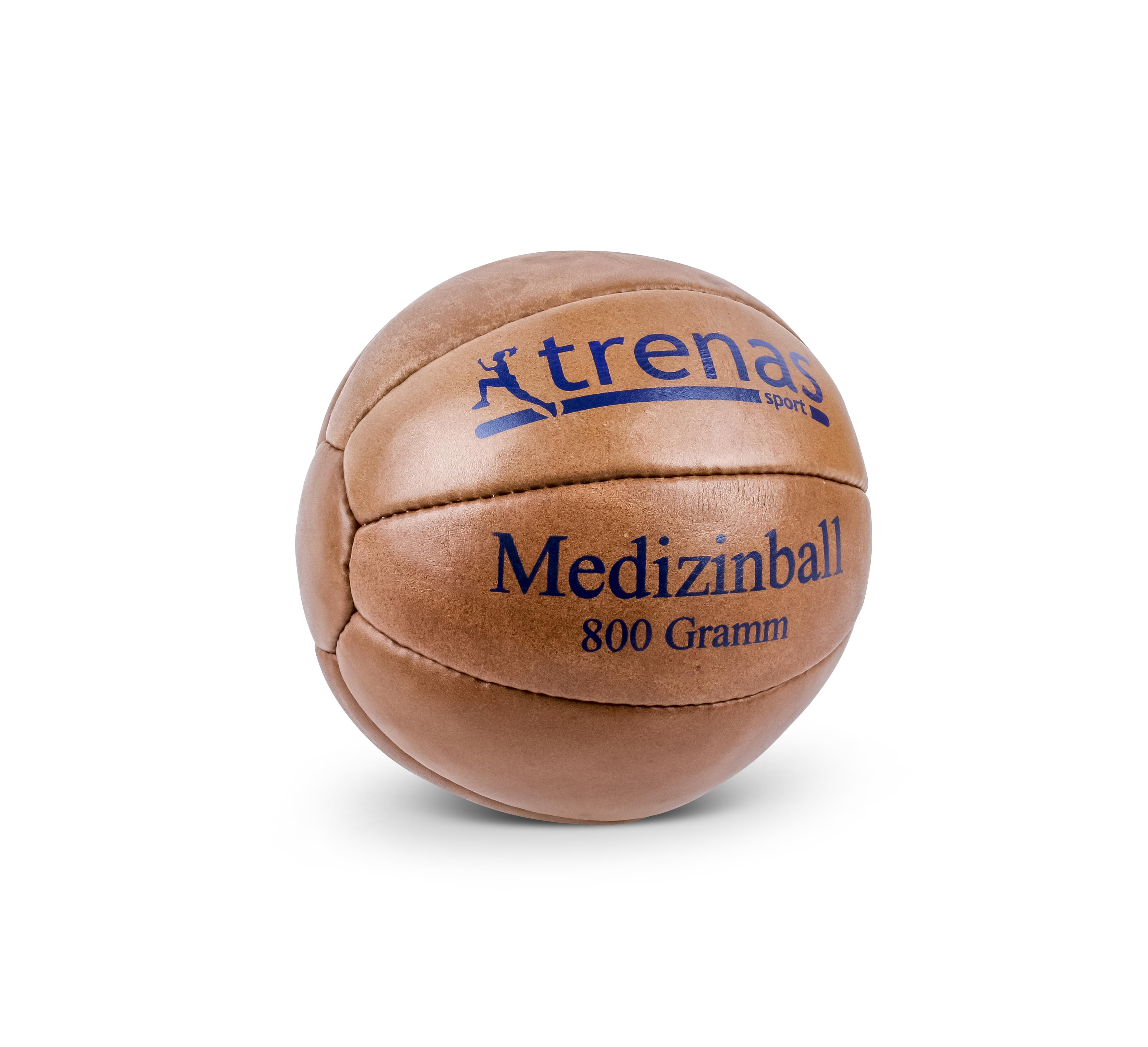 2 kg trenas Sportabzeichen Schleuderball aus Leder 800 g 1 kg 1,5 kg