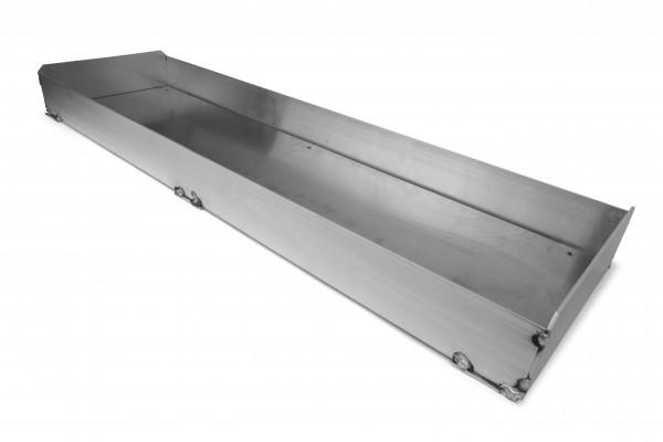 Cassetta porta asse di battuta regolabile in altezza - 122 x 34 x 10 cm