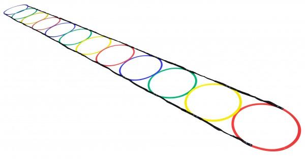 Escalera de agilidad de aros - 5 m
