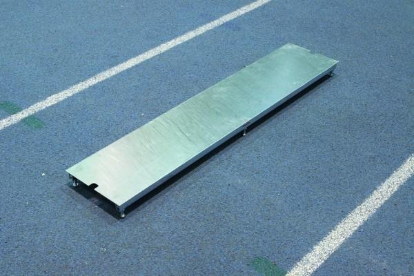 Polanik Couvercle de planche d'appel en acier - 122 x 30 x 10 cm