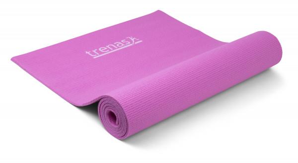 trenas Yoga Mat - 6 mm - Pink