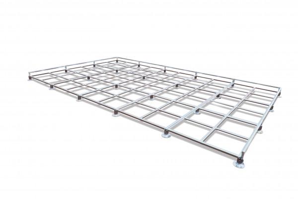 Polanik Universal Modular Grid Platform for 6 x 4 m High Jump Mats