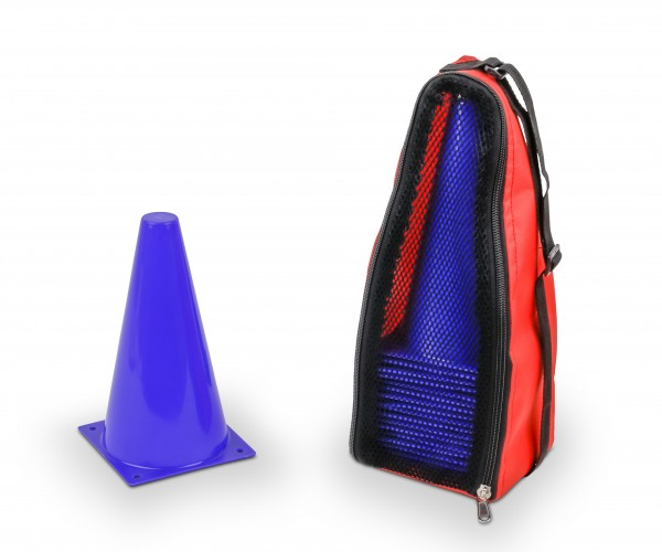 Twenty Cones with Bag