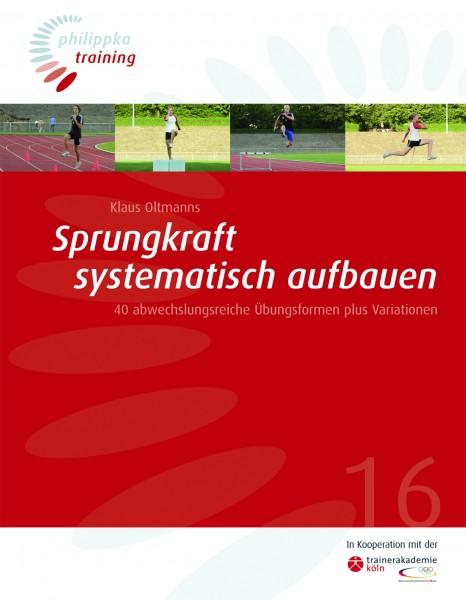 Lehrbuch - Sprungkraft systematisch aufbauen