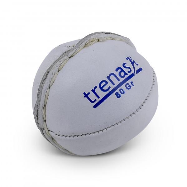 trenas Leather Throwing Ball - 80 g - White
