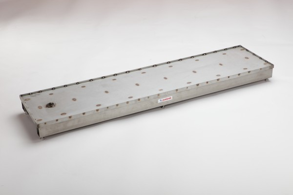 Polanik Stainless Steel Blanking Cover - 122 x 30 x 10 cm - Primed for Track Surface Layer