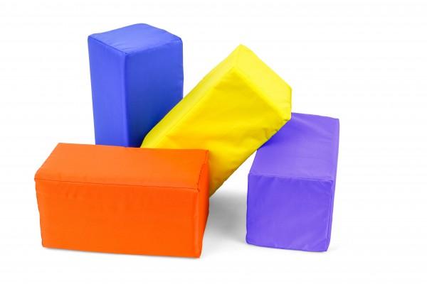 Kleiner Baustein aus Schaumstoff