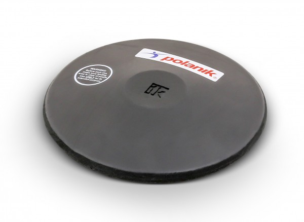 Polanik Black Rubber Training Discus