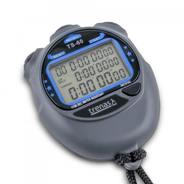 trenas TS-60 Digital Three-Row Stopwatch
