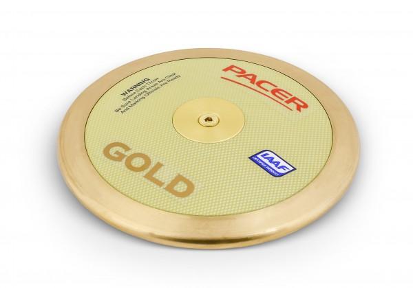 Pacer Wettkampfdiskus Gold