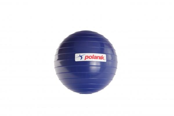 Bola ranurada Polanik de materia plástica dura para el lanzamiento de jabalina