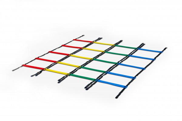 Cuatro escaleras de agilidad Design-a-Ladder antideslizantes