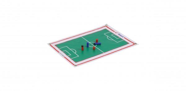 Panneau magnétique tactique enroulable - Football