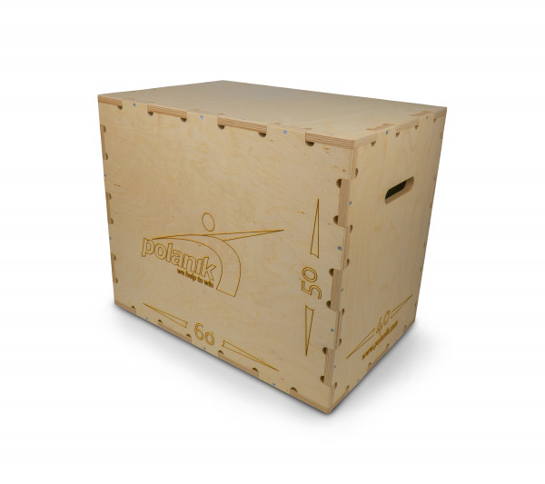 Polanik Plyometric Triple-Height Training Box
