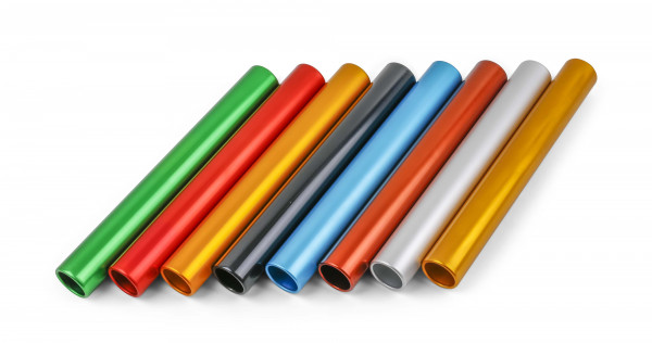 Vinex Senior Relay Batons - Set of 8