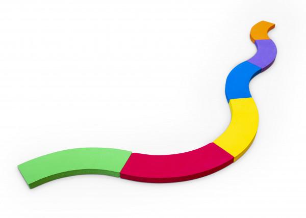 Sendero de equilibrio con curvas