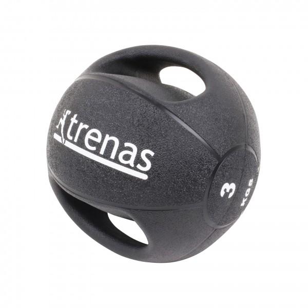 Balón medicinal con empuñaduras trenas