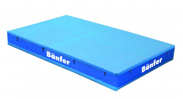 Bänfer Super High Jump Mat with Double-Sided Top Pad