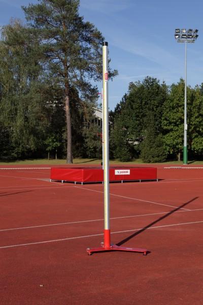 Par de saltómetros de competición y entrenamiento Polanik para el salto de altura