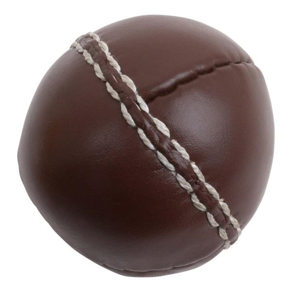 trenas Balle lestée en cuir brun - 80 g