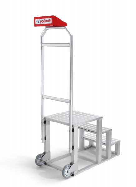Polanik Starter's Stand with Step and Handrail