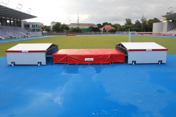 Garaje móvil Polanik para zonas de caída de salto de altura