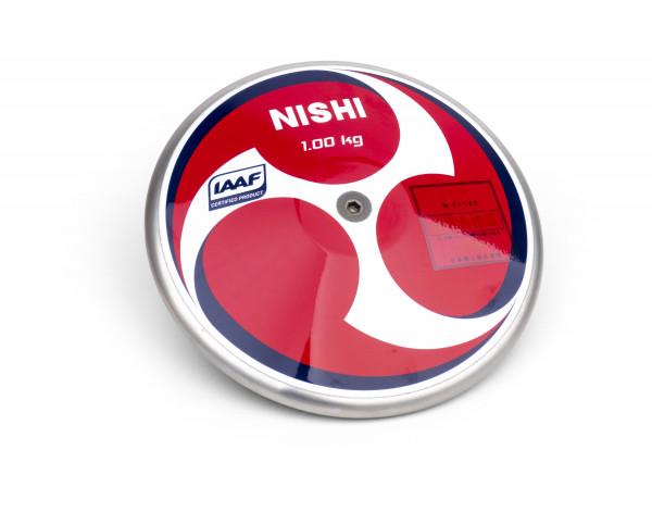 Nishi Wettkampfdiskus Super HM High Moment Carbon