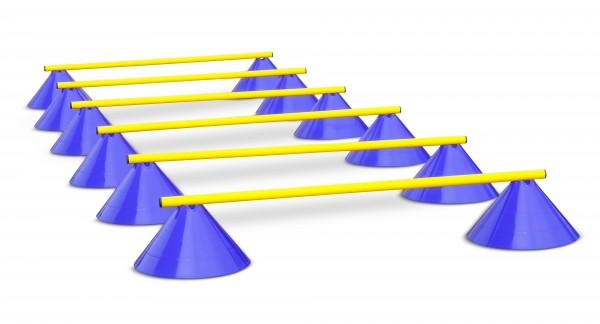 Multifunktionale Koordinationshürden im Set