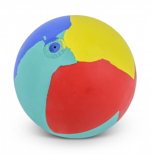 WV Multi-Coloured Gymnastics Ball - 16 cm