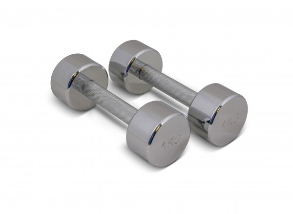 trenas Chromed Dumbbells
