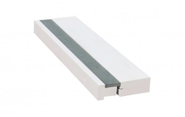 Tabla de batida de madera - 122 x 34 x 10 cm