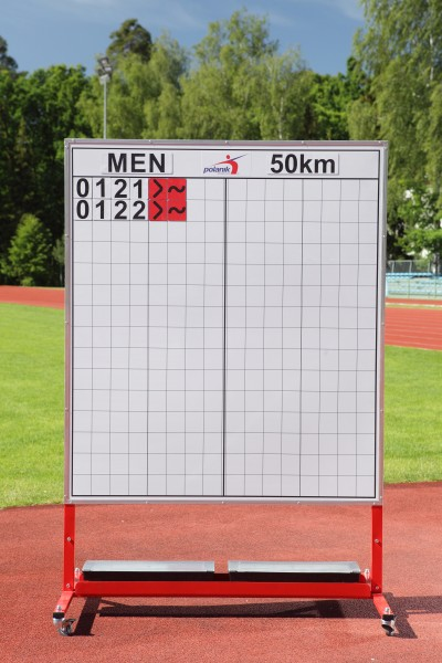 Polanik Race Walking Information Board