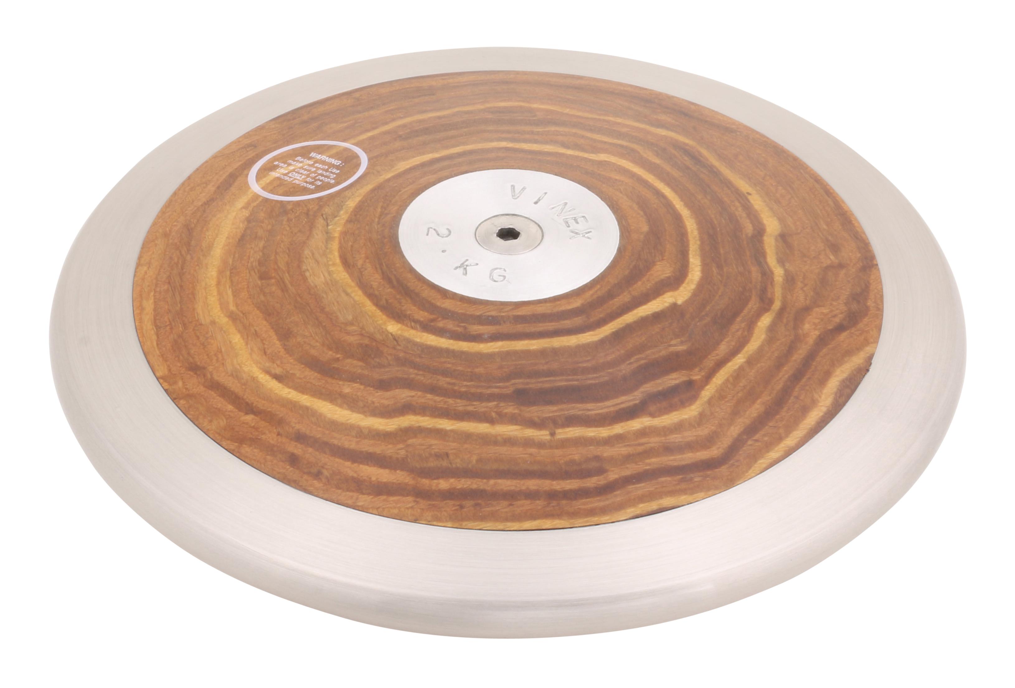 1,00 kg 2,00 kg bois HAEST Disque /à lancer de comp/étition VINEX ROCK