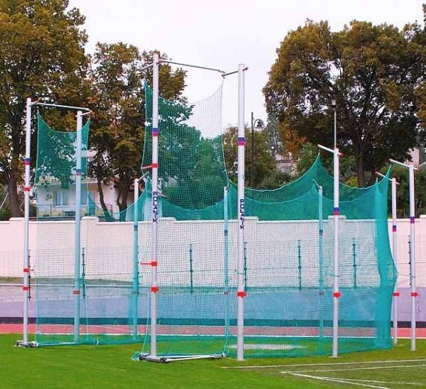 Polanik Cage de protection pour lancer de marteau et de disque - 5 x 7 m