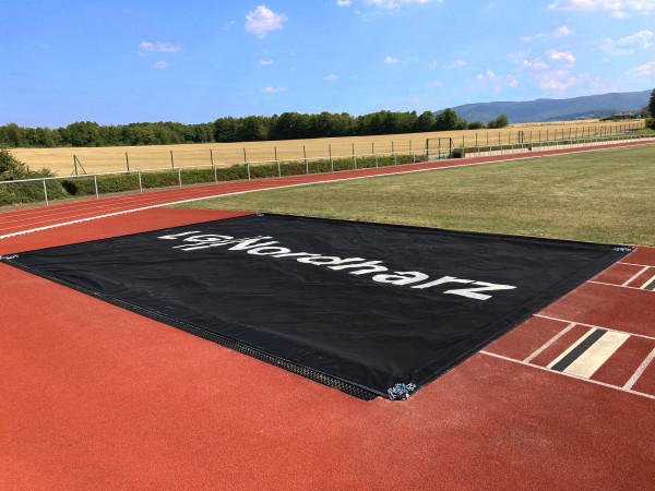 trenas Jumping Pit Cover with Customisable Colour and Logo Print