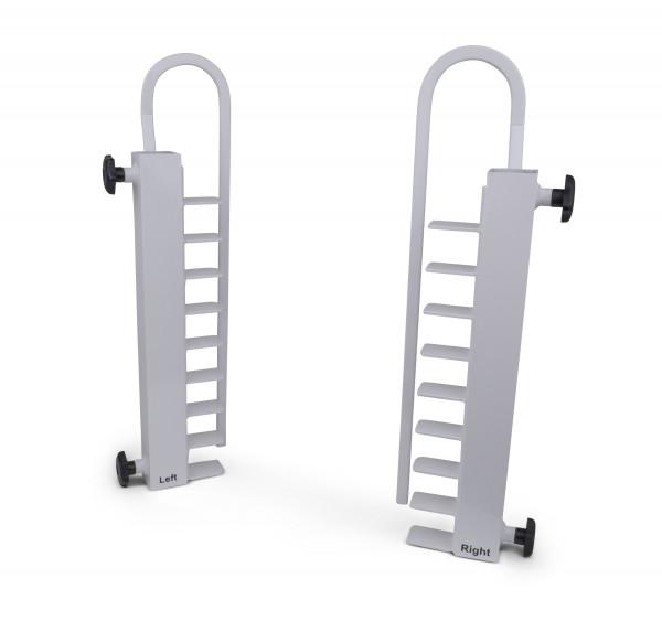 Múltiples soportes con sistema de seguridad para saltómetros de salto de altura