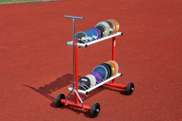 Polanik Discus Rack - Moveable and Non-Moveable