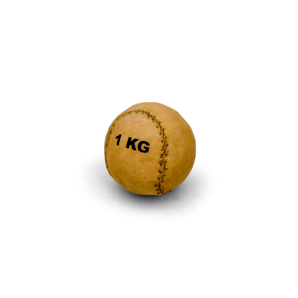 Compact Leather Medicine Ball