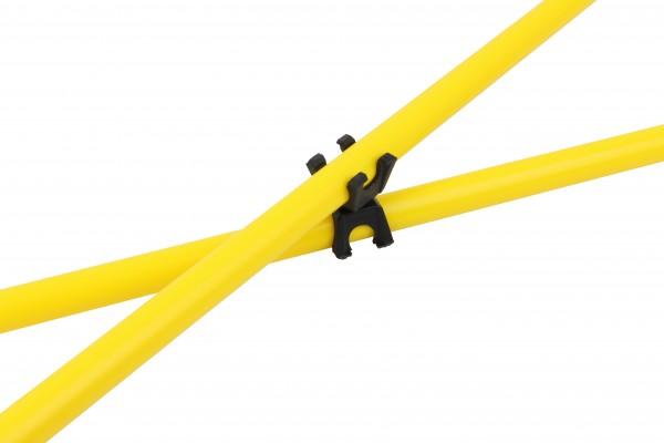 Verbindungsclips für Koordinationsstangen